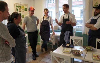 Examensdags i kursen Patisseri för våra Kitchen Manager studerande